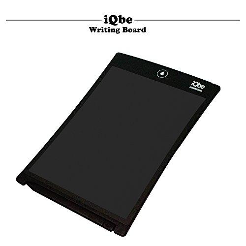 『iQbe 電子メモパッド 電子メモ帳 デジタルペーパー LW01-BK ブラック』のトップ画像