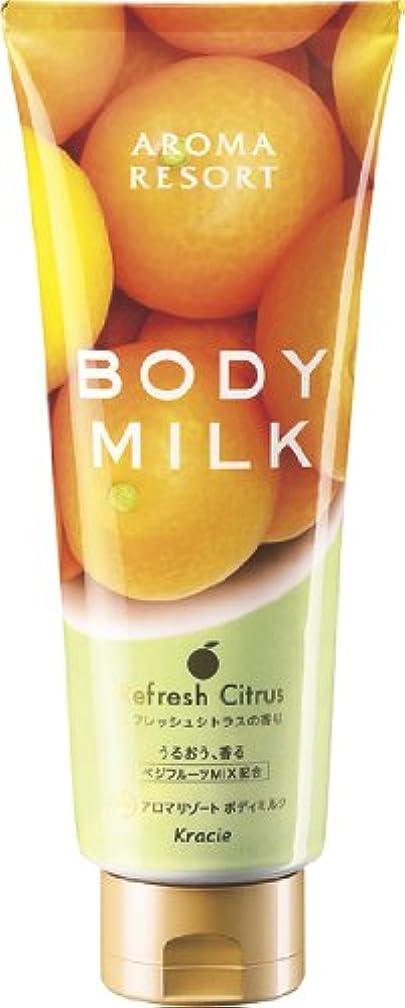 不健全遊びますホームアロマリゾート ボディミルク リフレッシュシトラスの香り 220g