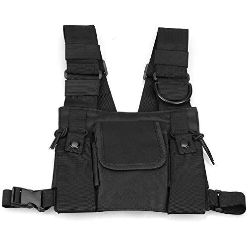 Harddo Männer Frauen Umhängetaschen Chest Rig Bag Hip Hop Streetwear Männer Funktionelle Hüfttaschen Verstellbare Taschen Weste