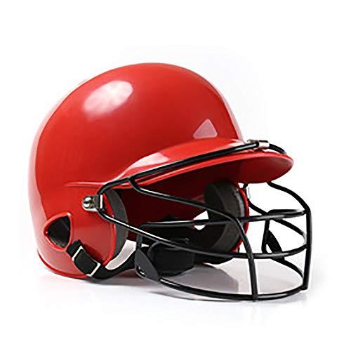N\A Casco De Softbol, Casco De Béisbol, Cascos De Bateo, Carcasa De ABS Resistente a Los Impactos, 5 Forros, 7 Respiraderos, Adecuado para Béisbol