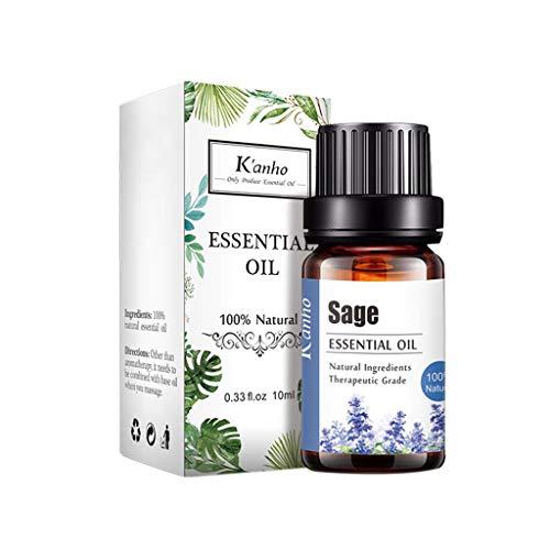 Aromatherapie Öle, Ätherisches Lavendelöl Bio, Aromatherapie Ätherische Öle, 100% naturreines ätherisches Bio Lavendel Öl fein für Diffusor, Luftbefeuchter, Aromatherapie 10ML (T)