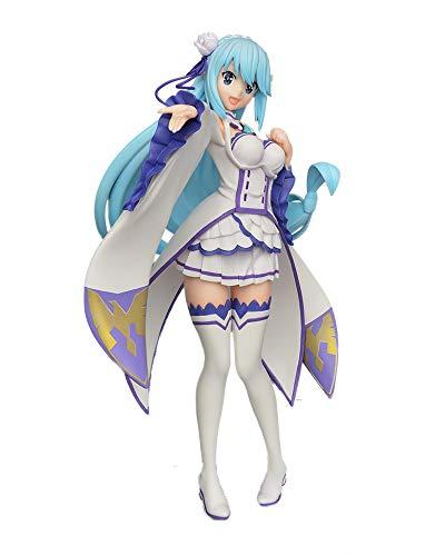 Sega KonoSuba God's Blessing on This Wonderful World!: Aqua Limited Premium Figure (Emilia Version)