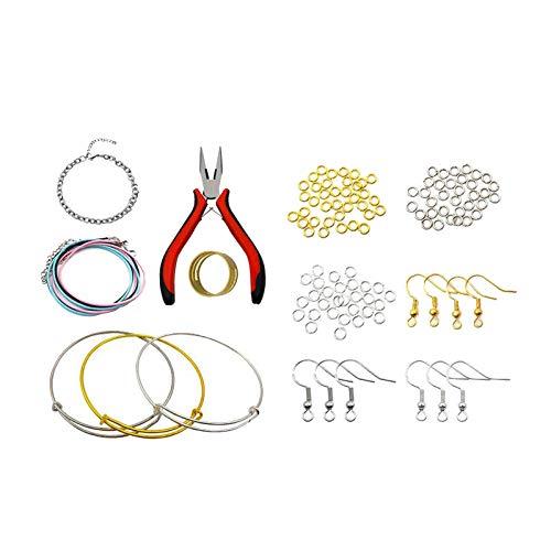 Fenteer Jewelry Making Findings DIY Earring Hooks Bracelets Necklace Accessories