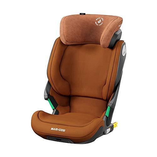 Maxi-Cosi Kore i-Size Kindersitz, mitwachsender Gruppe 2/3 Autositz mit ISOFIX (15-36 kg), Kinderautositz mit max. Seitenaufprallschutz, ab ca. 3, 5 Jahre bis ca 12 Jahre, authentic cognac (braun)