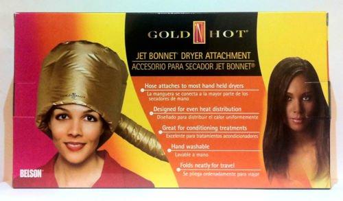 Hot or Jet de Bonnet sèche-cheveux Fixation Mat Couleur Or Item # gh9477 * * * * * * * *