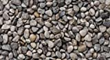WUEFFE Ghiaino Tondo di Fiume 4/16mm - Sacchi da 25 kg - Sassi Ghiaia graniglia (4 Sacchi da kg.25)