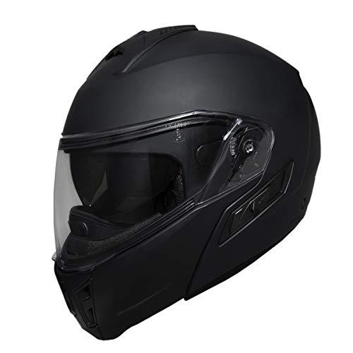 Fulmer 400 Cruz Modular Motorcycle Helmet Matte Black XXL