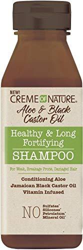 Creme Of Nature Aloe Black Castor Oil Shampoo (Pack of 1)