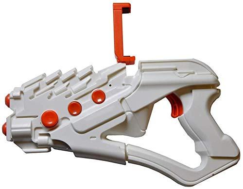 MAXGADGET AR004 - Pistola de juego con botón de color blanco y naranja