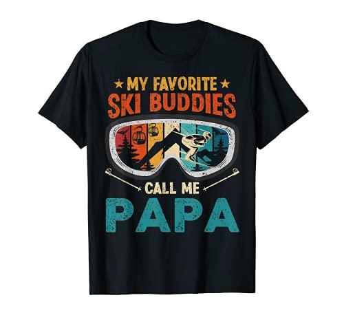 私の好きなスキーバディーズコールミーパパ Tシャツ