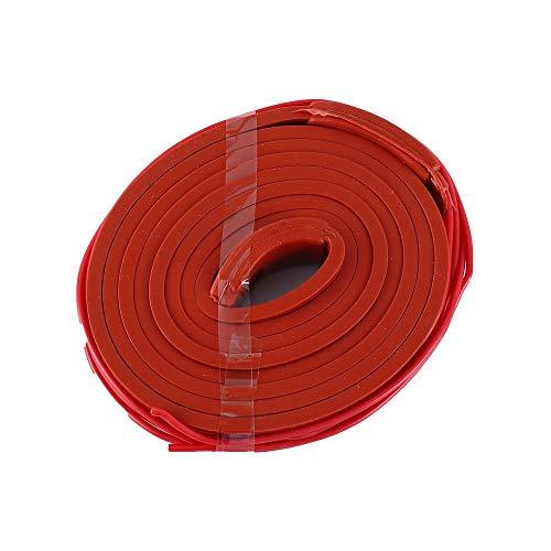 Cinturón Calefactor De Caucho De Silicona 1.5mx15mm Inteligente Calentador De Temperatura Para PVC/PPR/Tubos De Metal
