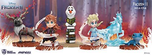 Beast Kingdom Frozen II MEA-014 Mini Egg Attack 6-Piece Figure Set, Multicolor