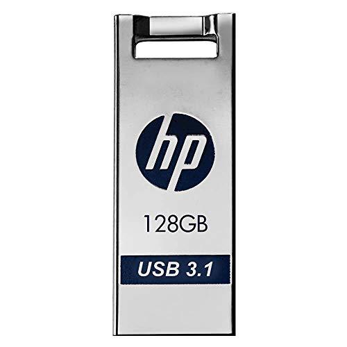 Pen Drive 128GB Prata HP - X795W, Conexão USB 3.1 de alta velocidade, Compatível com sistemas Windows e Mac - HPFD795W-128