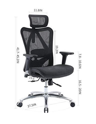 SIHOO Ergonomic Adjustable Office...