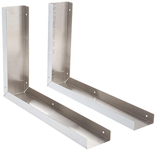 Whirlpool 8171339 Microwave Side Panel Kit, Stainless steel