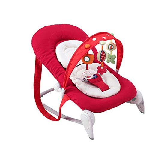 Find Discount Xiao Jian Foldable Portable Lightweight Rocking Chair Baby Recliner Newborn Cradle Com...
