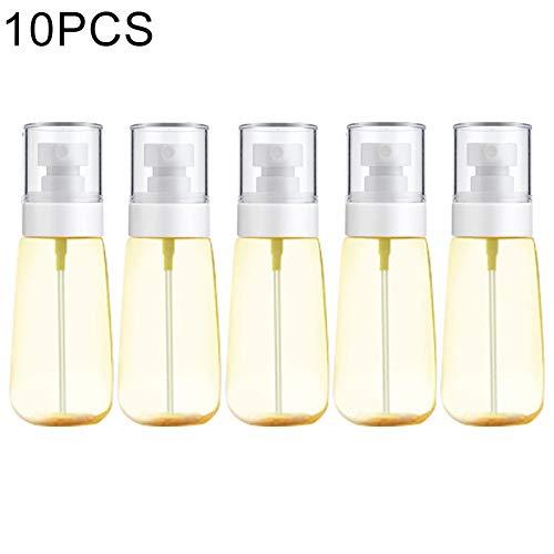 YANUNK 10 PCS Bouteille de Lotion de Distribution de Parfum, 60ml (Couleur : Jaune)