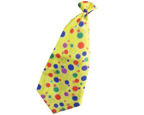 Dress Up America Cravate de cou de pitre (jaune)