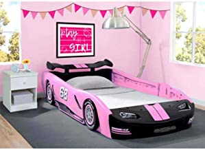 kwantasmile Toddlers Room Decor Girl Boy Furniture Bedroom Decorations Girls Race Car Bed Pink Bedroom Furniture Kids Toddler Bed Frame New