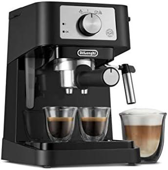 De Longhi Stilosa Manual Espresso Machine Latte Cappuccino Maker 15 Bar Pump Pressure Manual product image