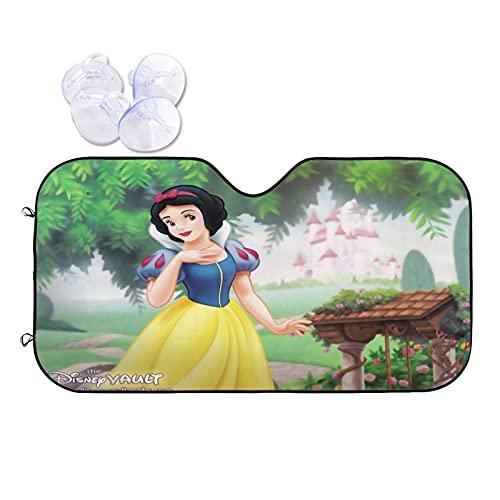 Disney Princess - Parasol delantero para coche, diseño de princesa, para coche, accesorios para vehículos