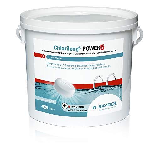 bon comparatif Bayrol – Chlorilong Power 5 – Chlore lent 5 Galets fonctionnels 5 kg un avis de 2020