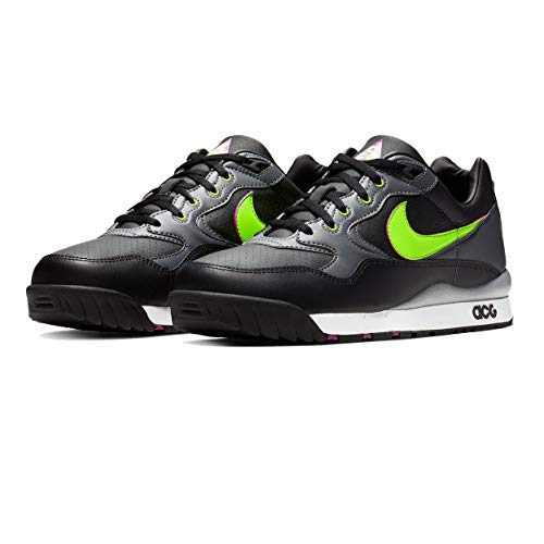 Mens Nike Shox Current Premium Size 15 716752-100 White/black/gum Brown