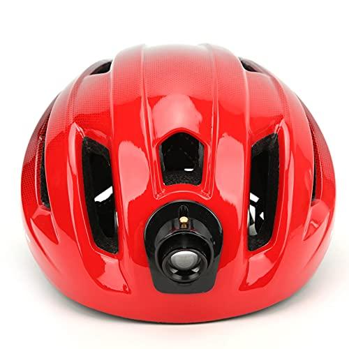 自転車用ヘルメット、自転車用大人用の着用に便利な穴デザイン自転車用ヘルメット(黒地)