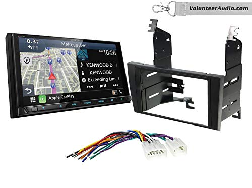 Best Price Kenwood Excelon DNX996XR Double Din Radio Install Kit With Apple CarPlay, Android Auto, S...