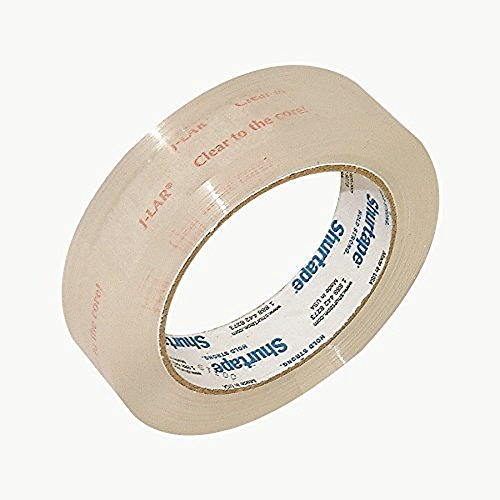 Shurtape JLAR Clear to the Core Tape (Permacel J-LAR): 1 in. x 72 yds. (Clear) by Shurtape