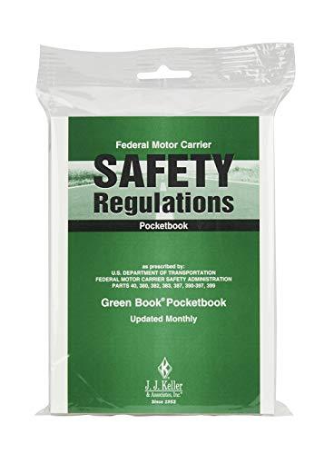 J. J. Keller & Associates, Inc. Federal Motor Carrier Safety Regulations Pocketbook (Green Book) - Softbound - Retail Packaging