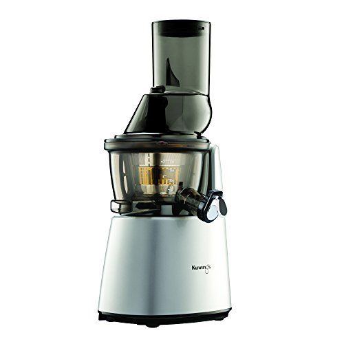 Kuvings Whole Slow Juicer Elite C7000S - Higher Nutrients and Vitamins, BPA-Free Components, Easy to Clean, Ultra Efficient 240W, 60RPMs-Silver