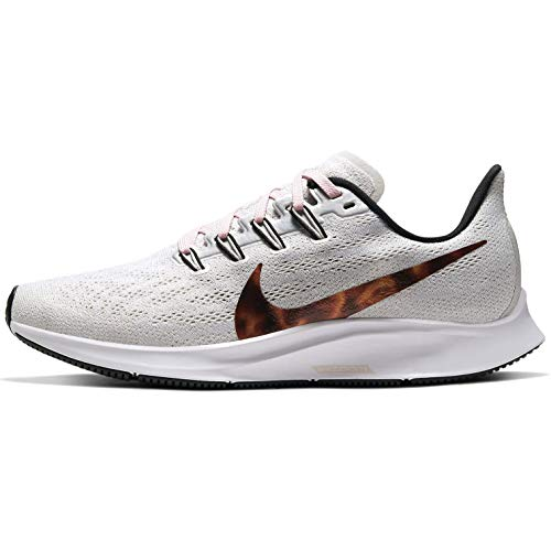 Nike Air Zoom Pegasus 36 Women's Running Shoe VAST Grey/Multi-Color-Black-Barely Rose Size 7.5