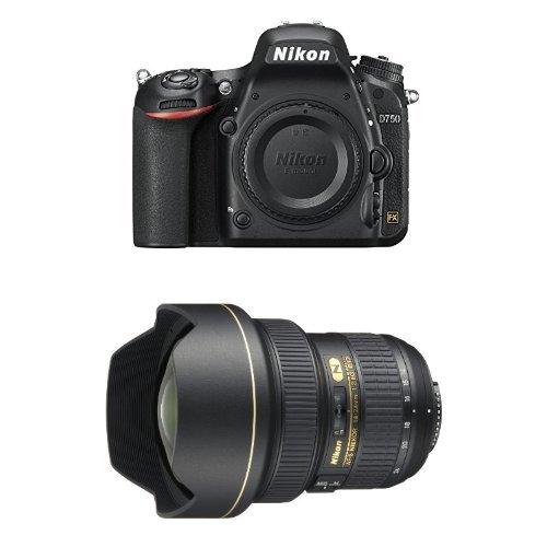 Nikon D750 FX-format Digital SLR Camera Body with AF-S NIKKOR 14-24mm f/2.8G ED