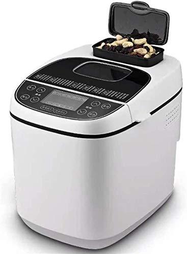 MISLD Teelicht Automatische Brotmaschine Glutenfreie Menü Brot-Maschine, Preset-funktionen, Fast Bake brotbackmaschine anfänger freundlich, 550w