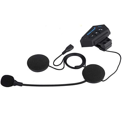 EBTOOLS 1 Paar Motorradhelm BT Headset Kopfhörer Lautsprecher Unterstützung Freisprecheinrichtung Helm Kommunikationssysteme für Motor Motorrad, Motor Helm Headset.