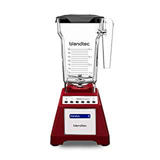 Blendtec Total Classic Original Blender - Fourside Jar (75 oz) - Professional-Grade Power - 6 Pre-programmed Cycles - 10-Speeds - Red (B000ILIKZI) | Amazon price tracker / tracking, Amazon price history charts, Amazon price watches, Amazon price drop alerts
