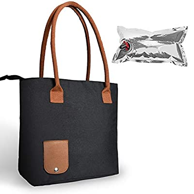 Wine Tote Bag with Hidden Dispenser, Insulated Large Wine Carrying Carrier Set with Wine Bladder, Perfect Wine Gift for Byob, Movie Theater, Concert, Sport Events, Pool & Beach