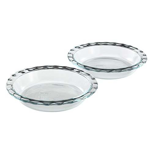 Pyrex Easy Grab Glass Pie Plate 9.5-inch