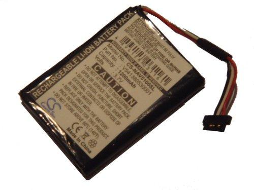 vhbw Li-Polymer Akku 1200mAh (3.7V) für Navigation, GPS Navigon 5100, 5100 Max, 5110 wie 541380530001.