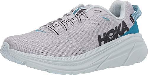 HOKA ONE ONE Rincon Women's 6 Running Shoes, Lunar Rock/Nimbus Cloud, 10 US