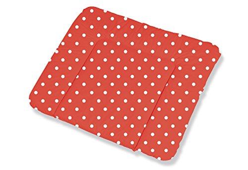 Pinolino 71283-5 Wickelauflage Komfort, punkte rot