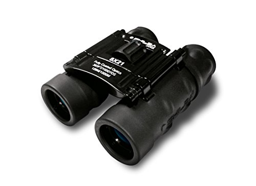 Shilba Compact 8 x 21 - Prismáticos, Color Negro