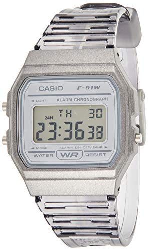 Relógio Casio Feminino Standard F-91ws-8df