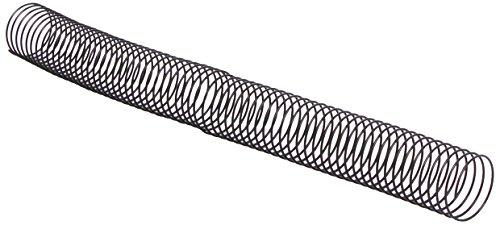 GBC ESP905130 - Espiral de encuadernación, 3 cm, color negro (50 unidades)