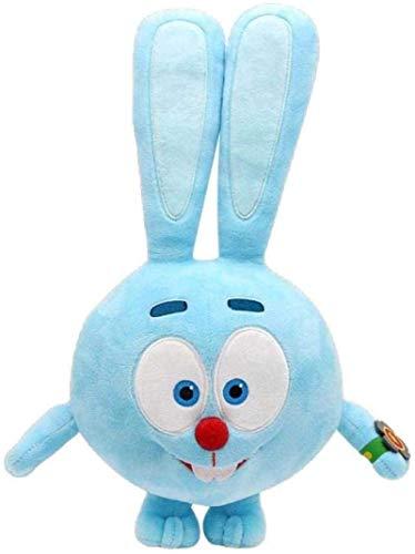 DINEGG Multi-Size Russland Cartoon Anime Plüschtier Gogoriki Kikoriki Pinguin Kaninchen Jump Hey Vier Augen Gefüllte Puppe Schönes Geschenk-13_inch_Rabbit_Jump_ YMMSTORY