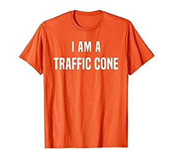 Traffic Cone Costume T-Shirt Easy Simple Halloween Costumes