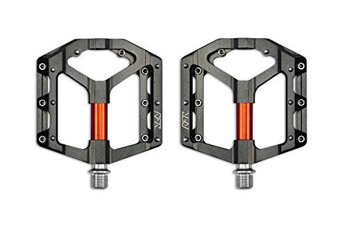 RFR Flat SLT 2.0 Fahrrad Pedale grau/orange