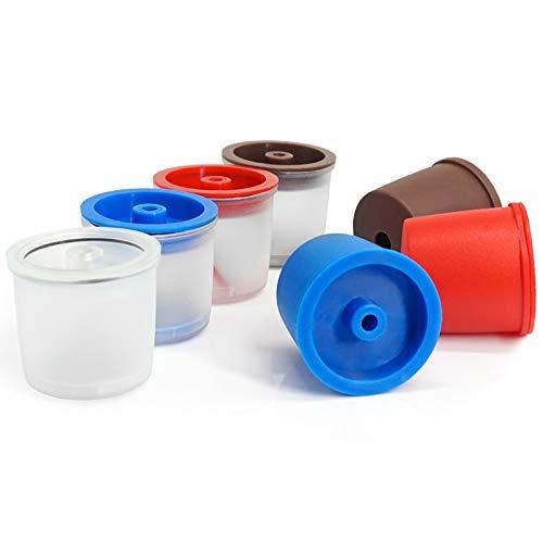 YL Reutilizables Iperespresso la cápsula de café Recargables Capsulone Copas Compatible for el Filtro de café Illy máquinas de Recarga (Color : Random, Size : 2pcs)