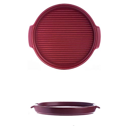 De vajilla fina, juego de vajilla con plato llano, plato llano de cerámica de 22 piezas - cuenco / plato / cuchara |Conjunto completo de combinación de porcelana con borde dorado mate adecuado para i